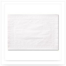 15 x 20 Classic Embossed Straight Edge Traymat/Case of 1000 - $192.06