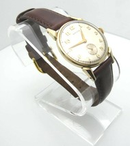 Vintage Hamilton 17 Jewels 10K Gold Filled Analog Hand Wind Watch (A919) - $829.73