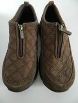 Women's Lands End Zip Up Shoes, Size 8B - $24.99