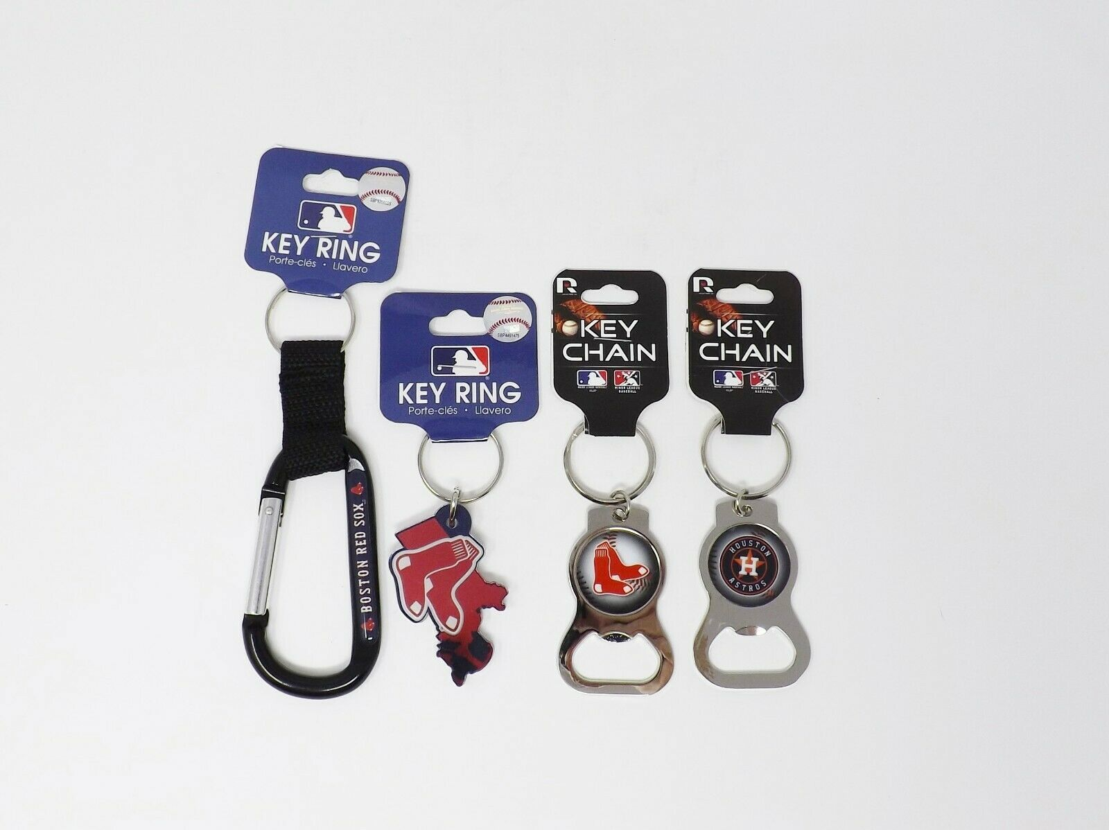 Sports Team Key Chains Rings
