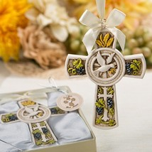 Holy Natures Harvest Themed Cross Ornament Holiday Ornament Party Favors - $3.52