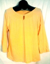 WOOLRICH WOMEN'S YELLOW TOP LARGE - $8.88
