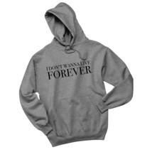"Zayn / Taylor Swift ""I Don't Wanna Live Forever""  Hoodie Sweatshirt - $30.00+"