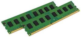 Kingston Value Ram 4GB Kit (2x2GB Modules) 800MHz PC2-6400 DDR2 CL6 Dimm Desktop - $22.67