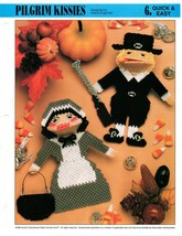 Plastic Canvas Pattern - Pilgrim Kissies - Quick & Easy - $1.97