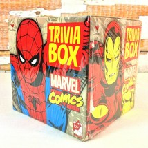 MARVEL COMICS Trivia Game Box 20 Character Cards 100's of Questions New ... - $7.91