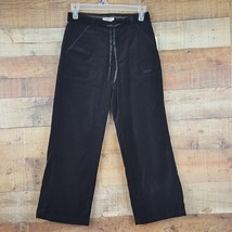 OshKosh NWT Girl's Velour Pants Adj. Elastic Waist Sz 12 Black  MSRP $38.00 YB21 - $10.39