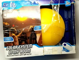 Uncle MIlton Solar System In My Room Mobile Remote Controlled Light Up Sun - $35.99