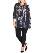 City Chic Women's Trendy Floral Tunic - $44.98+