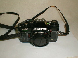 Olympus OM40 program black 35mm camera body only  Japan - $75.00