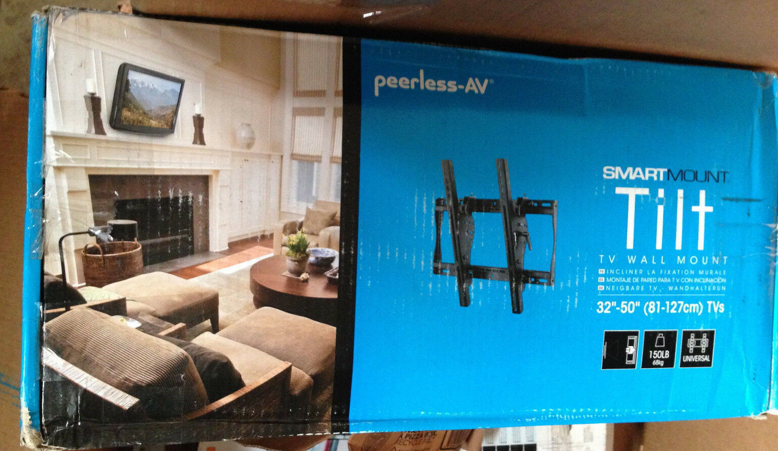 "PEERLESS SMART MOUNT TILTING WALL MOUNT 32""-50"" ST640 - $69.29"