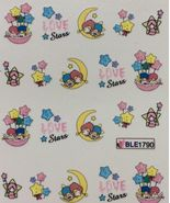 BANG STORE Nail Art Water Decals Little Twin Stars Hello Kitty Friend FU... - $3.67