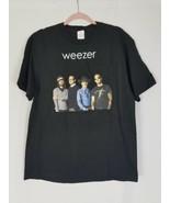 Weeser men L t-shirt 2008 Troublemaker concert tour black - $21.76