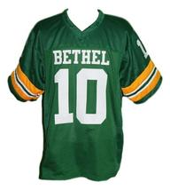 Allen iverson  10 bethel high school football jersey green   1 thumb200
