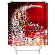 Or bathroom waterproof cortina navidad christmas decoration for home shower curtain for thumb200