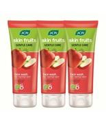 Joy Skin Fruits Apple Gentle Care Face Wash 100ml Pack of 3 FREE SHIP - $15.35