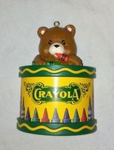 1992 Crayola Bear Ornament - $9.90
