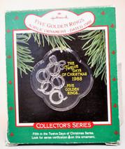 Hallmark - 12 Days of Christmas - Acrylic 1988 - Series 5th - Ornament - $8.61