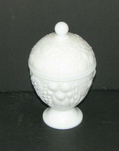 Vintage Avon Milk Glass Candy Dish With Lid - $24.98