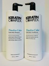 Keratin Complex Timeless Color Fade Defy Shampoo & Conditioner 33.8oz Liter Duo  - $64.85