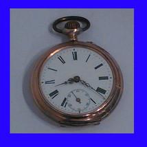 Stunning Vintage Silver & Gold Swiss Lepine Pocket Watch ca. 1880 - $208.48
