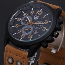2020 Vintage Classic Watch Men Watches Stainless Steel Waterproof Date Leather - $2.85+