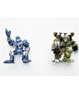 2007 hasbro transformers robot heroes movie protoform jazz vs. brawl 2 minis thumbtall
