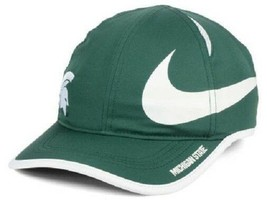 Michigan State Spartans NCAA Nike Big Swoosh Aerobill Adjustable Hat - $17.77