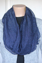 NEW Cejon DW49348 Navy Women's Neck Infinity Scarf 23x35 - $10.88