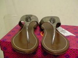Damen Tory Burch Pantoffeln Hartzinn Silber Size 6 Us - $157.36