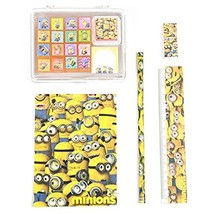 Minion's Stamp 16 pattern set and minion character stationery set (A set) - $31.40