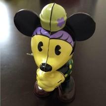 Minnie Mouse Wind-Up Tin Toy Walt Disney Vintage Retro Japan works well - $65.44