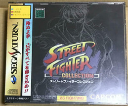 Sega Saturn Street Fighter Collection Video Game From Japan Official Import - $140.42 CAD