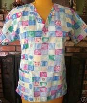 Women's Nursing Uniform Crest Scrub Top Sz. S - $7.91