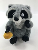 "Disney Pocahontas Meeko Raccoon Plush Stuffed Doll With Cookie 8"" - $19.79"