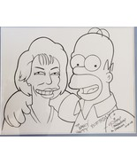 Original Simpson's Artwork Richard Manginsay - Homer - $156.75