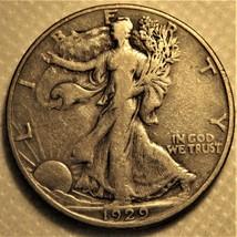 1929-d Liberty Walking Half Dollar. - $32.00