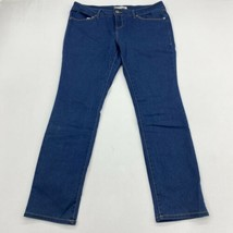 No Boundaries Jeans Juniors 17 Blue Skinny Leg Low Rise Slim Fit Washed ... - $18.95