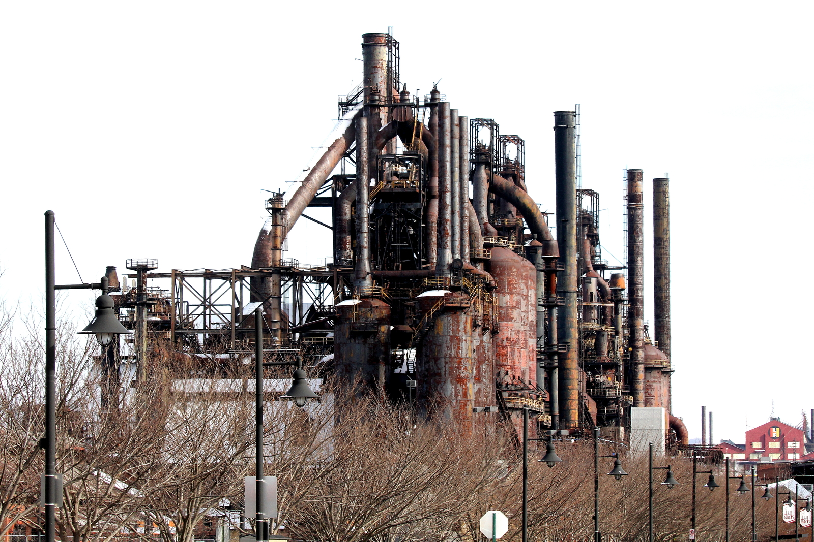 Steel Stacks 13 X 19 Unmatted Photograph