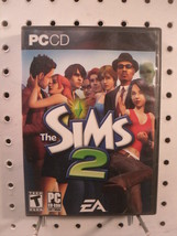 The Sims 2 Life Simulation Game Maxis EA PC CD 2006 4 disks + case US ve... - $13.16