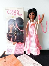 1974 AA TWIRLY BEADS CRISSY Doll Rare Hairdo Dangle  African American Id... - $295.00