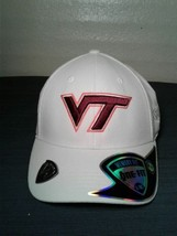 Virginia Tech Hokies Top Of The World NCAA Official White Memory One Fit... - $13.98