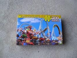 NEW Puzzlebug Roller Coaster Ride 300 Piece Puzzle - $13.50