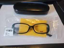 New Authentic Fendi F898 444 Aqua 51-15-140 Fendi Case Perfect Authentic - $28.71