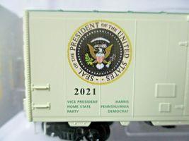 Micro-Trains # 07400146 Joe Biden Presidential 40' Boxcar Road # 2021. N-Scale image 4