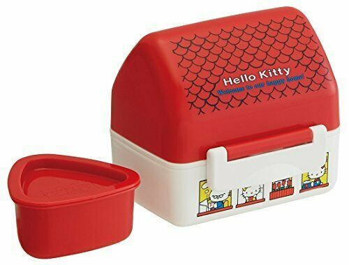 Skater rice ball lunch box Hello Kitty House Sanrio made in Japan POT5 - $22.25