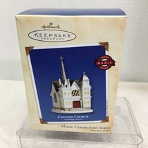 2002 Candlelight Services #5 Hallmark Christmas Tree Ornament MIB Price Tag H3 - $12.38