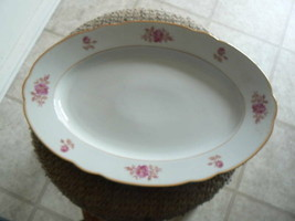 Scherzer 15 1/2 oval platter (SR109) 1 available - $26.68