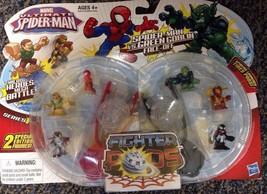 Spiderman Marvel ultimative Kampfflieger SCHOTEN SERIE 1 : vs. grün gobl... - $7.86