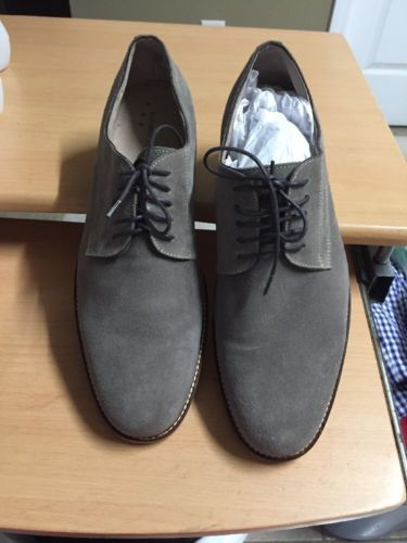 MEN'S BANANA REPUBLIC LACE UP OXFORDS LEATHER & MAN MADE MATERIALS  SIZE 13